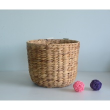 Round nature water hyacinth flower pot