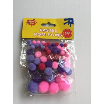 pom pom color assorted