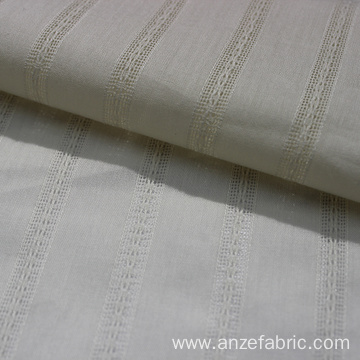 100 cotton dobby fabric off white for dress