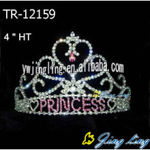 Wholesale rhinestone princess crowns wedding tiaras