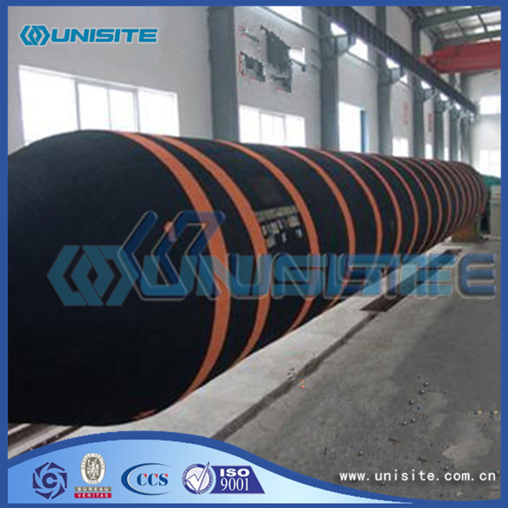 Flexible rubber hoses for dredging construction
