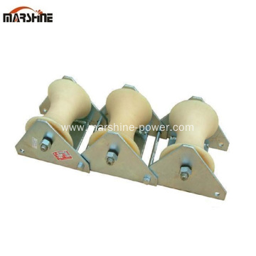 Triangle Sheave Cable Guide Roller