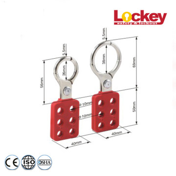 "Aluminum Group Lockout Hasp with 1""and 1.5""Shackle"