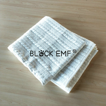 Silver Cotton EMF Radiation Protection Grounding Blanket
