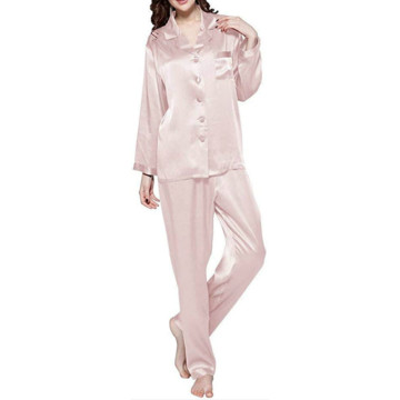 Women's Long Sleeve Button Down Pj Sets S-XXL