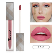1PCS SEXY PINK Lipgloss Matte 12 Colors Lip Gloss Velvety Lipstick Liquid Matte Waterproof Lip Tint Full & Rich Sexy Lip Makeup