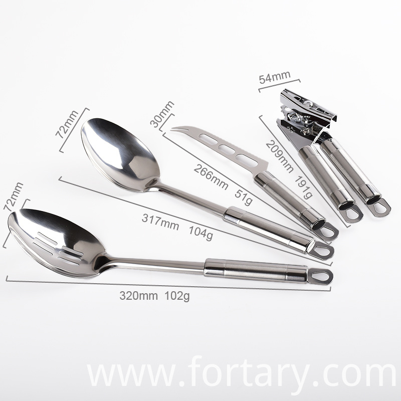 Stainless Kitchen Utensil Set