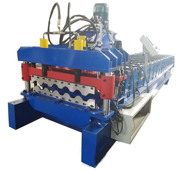 sheet roofing machine