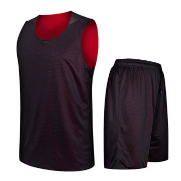 Dubbellaags omkeerbaar basketbal uniform