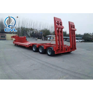 3 Axles low bed Semi Trailer