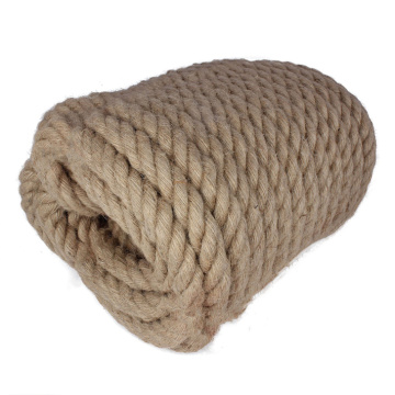 twisted jute marine rope navigation and construction