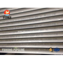 Super Duplex Steel Seamless Tube ASTM A789 S32760 For Heat Exchanger