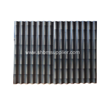 Anti-UV Sound-Insulation Iron Crown MgO Roofing Tiles
