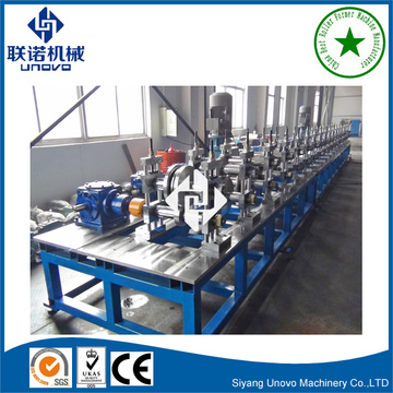 steel profile customer C section unistrut channel roll forming machine