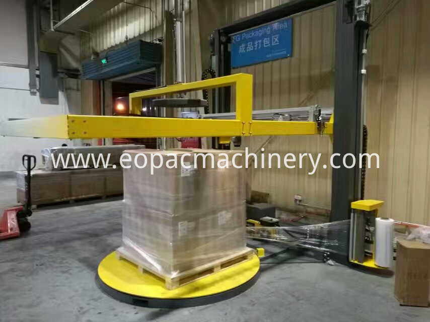 Top Sheet Cover Pallet Packing Machine