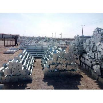 Square and Hexagon Flange Ground Screw Pile