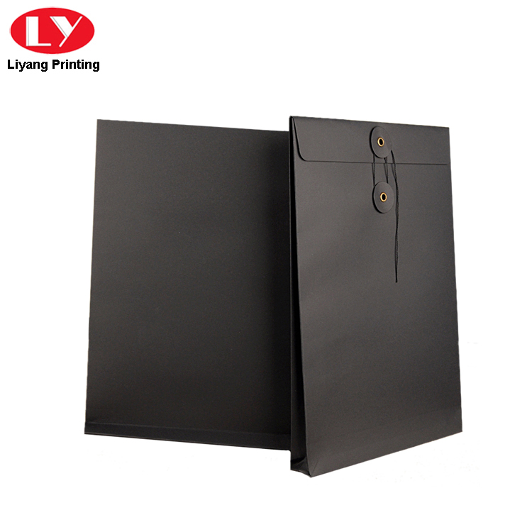 A4 Black Kraft Envelope