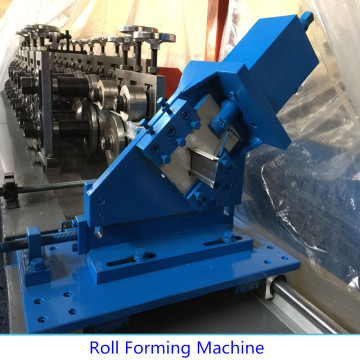 Automatic light steel frame keel roll forming machine