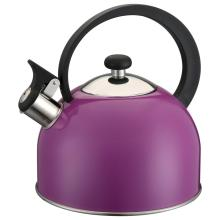 Elegant Purple Whistling Kettle