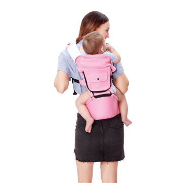 Front And Back Carry Hipseat Baby Carrier