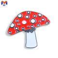 Metal Custom Enamel Mushroom Pin Badge