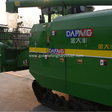 rice paddy combine harvester