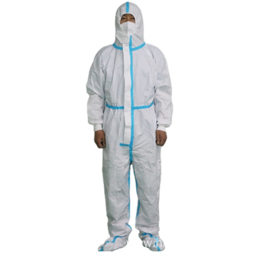 Protective Coverall Suit Surgical Medical Cloth