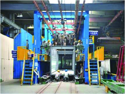 production line-2 for Prefab Equipment Containerized Integration