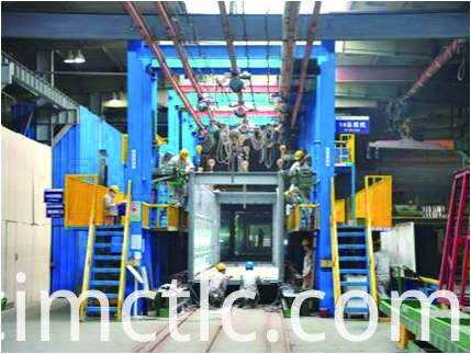 production line-2 for ISO Standard Generator Container