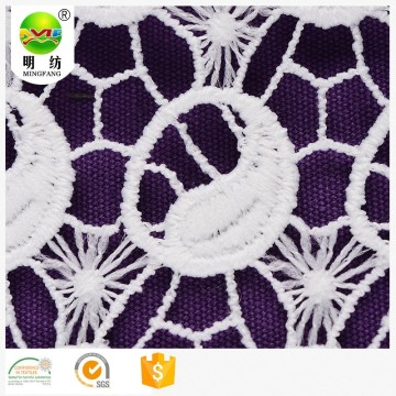 lace fabric embroidery only for ladies garment