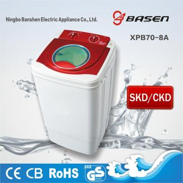 SKD And CKD Single Tub 7KG Capacity Washing Machine