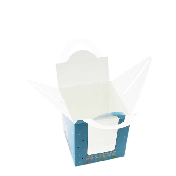 Single cupcake boxes with clear window wholesale