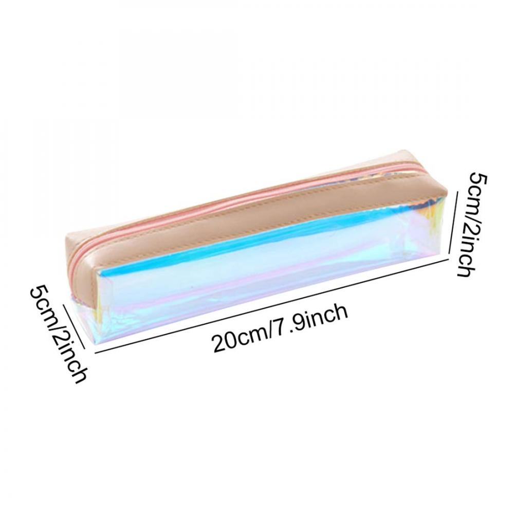 Laser Clear Colorful Pencil Case 4