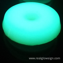 Realglow Photoluminescent Disc Blue Green