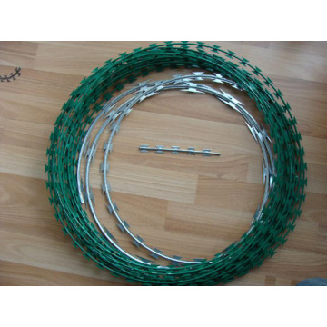 High Security Anti-Thief Razor Wire Fence