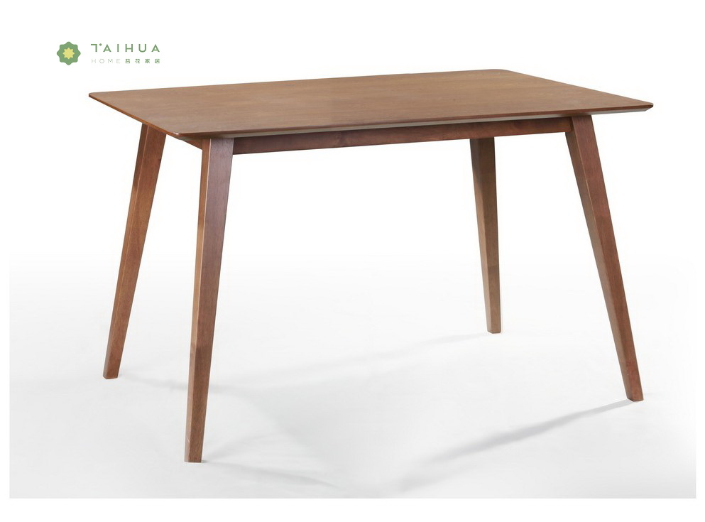 Solid Wood Dining Table 1.2M