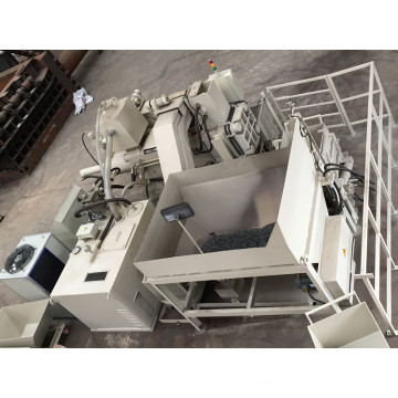 Horizontal Automatic Steel Chips Sawdust Briquetting Machine