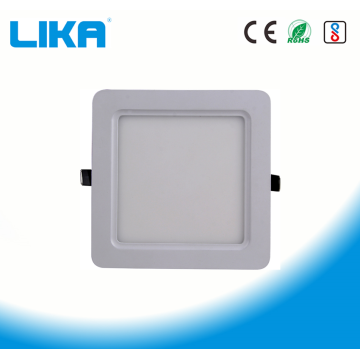 12W Curved Corner Square Concealed Mounted Panel Light