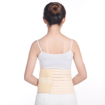 Fixed elastic abdomen postoperative belt