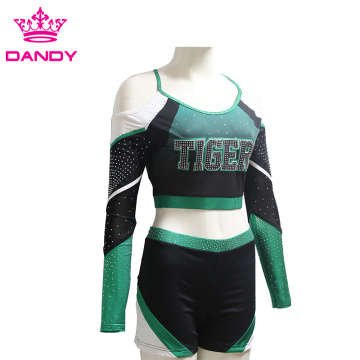 Tiger youth cheerleading uniforms