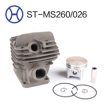 MS260/026 44mm chainsaw spart parts cylinder piston kits