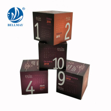Hot 4pcs Calendar cube with magnet promotin magic cube weekly cube calendar