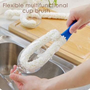 Flexible Hookah Shisha Vase Cleaner Hookah Sponge Brush Bendable Hose Tube Smoking Water Pipe Accessories for Kitchen