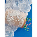 Elegant Stretch 18cm Wide Lace Trim for Lingerie