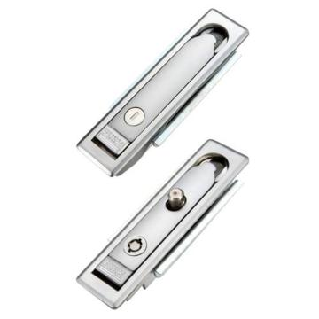 ZDC Housing Matt Chrome-coated Cabinet Flat Locks Latches