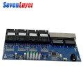 Ethernet Fiber switch 4 RJ45 4 SC Optical Media Converter Single Mode fiber Port 10/100M PCBA