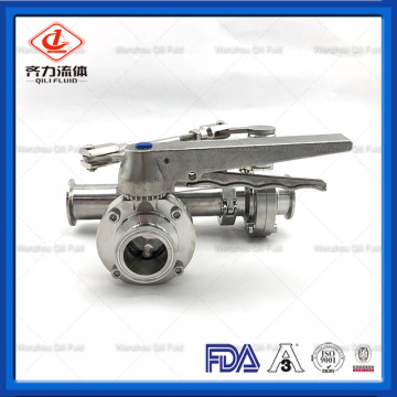 Tee Style Butterfly Valve with Handle