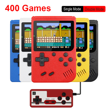 Portable Game Console Mini Handheld Game Console Video 8-Bit 3.0 Inch Color LCD Kids Color Game Player Built-in 400 games