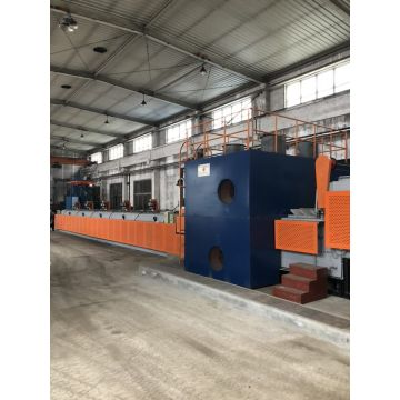 Mesh belt isothermal normalizing furnace