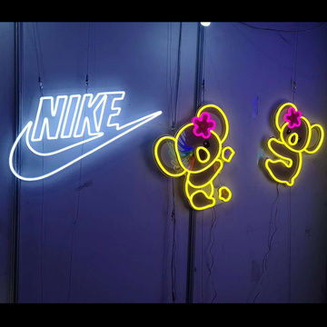 SPORTS BRAND NEON SIGN LOGO